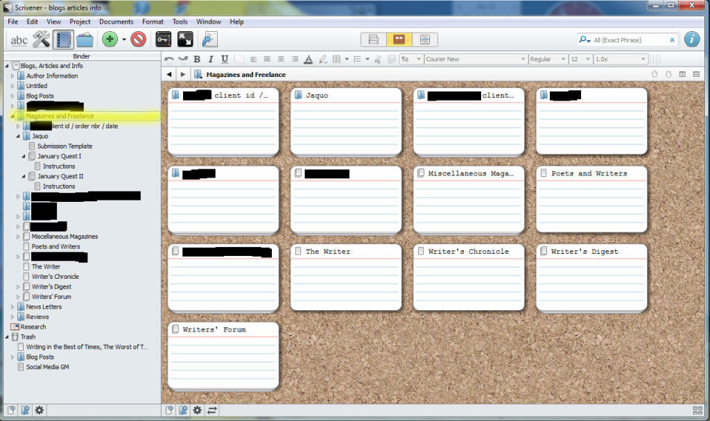 Organizing Scrivener Files | JAQUO Lifestyle Magazine
