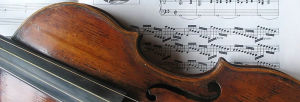 The Titanic: Wallace Hartley tribute violin