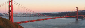 Golden Gate Bridge closure January 10, 2015 to January 12, 2015.