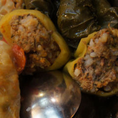 Stuffed Cabbage Rolls: Vegetarian recipe