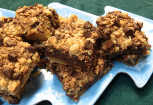 Choc toffee bars 3sm