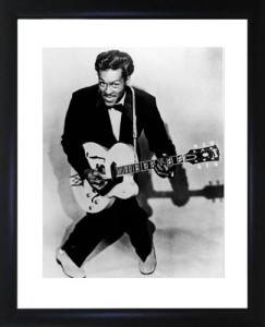 Chuck Berry Framed Photo - Buy it here.