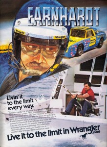Earnhardt - Livin' it to the Limit advertisement, 1981