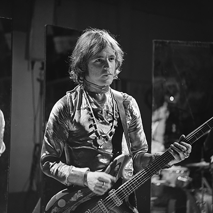 Jack Bruce (Cream) performing on the Dutch television program Fanclub in January, 1968