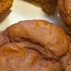 Super Light Pumpkin Muffins