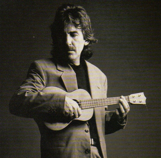"""Everyone I know who is into the ukulele is 'crackers! You can't play it and not laugh!"" GEORGE HARRISON"