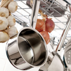 Anolon Hard Anodized Cookware, for more even cooking