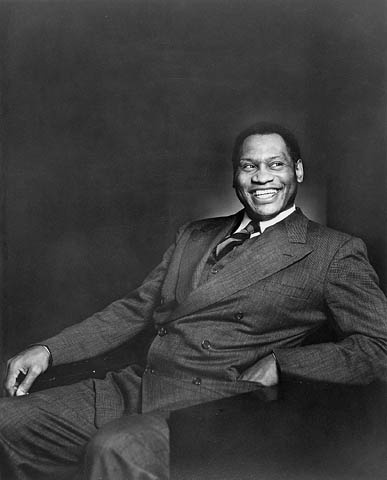 Paul Robeson in 1938 - portrait by Yousuf Karsh; National Archives of Canada.