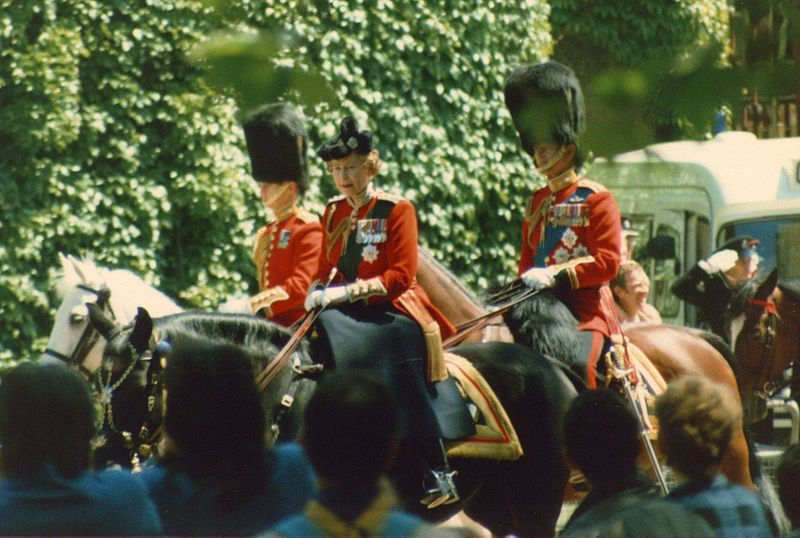 Queen Trooping colour