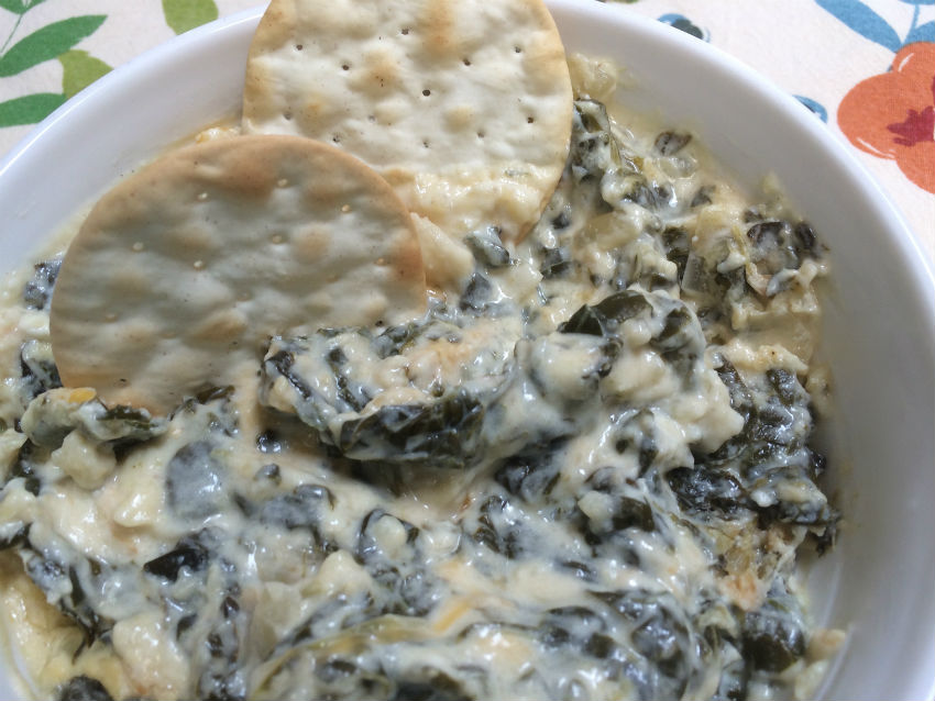 Spinach dip 3sm