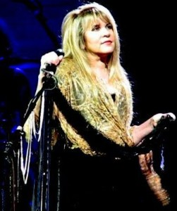 Stevie Nicks performs, 2008