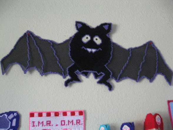 my finished project of the big bat