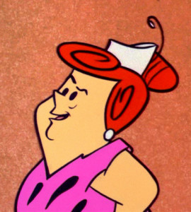 Pearl Slaghoople, Wilma Flinstone's mother.