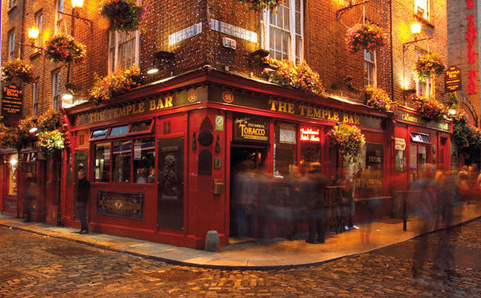 The Temple Bar - Dublin, Ireland. Photo Print.
