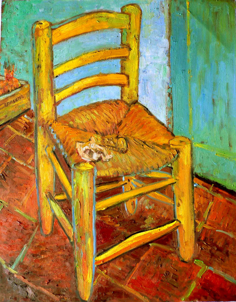 Vincent's Chair with His Pipe Arles: December, 1888 (London, National Gallery)