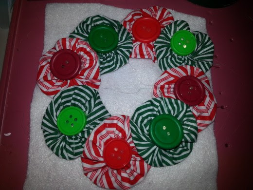 yoyo wreath