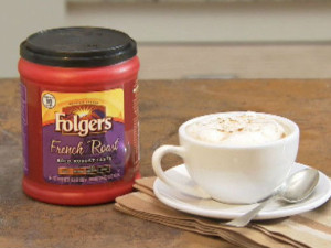 Folgers Cappuccino