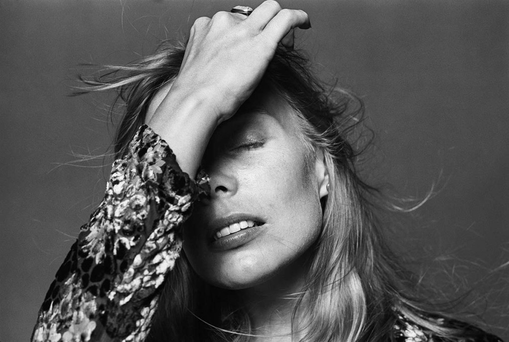 Portrait of Joni Mitchell by