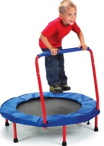 Mini Trampoline Keep Fit for Little Ones
