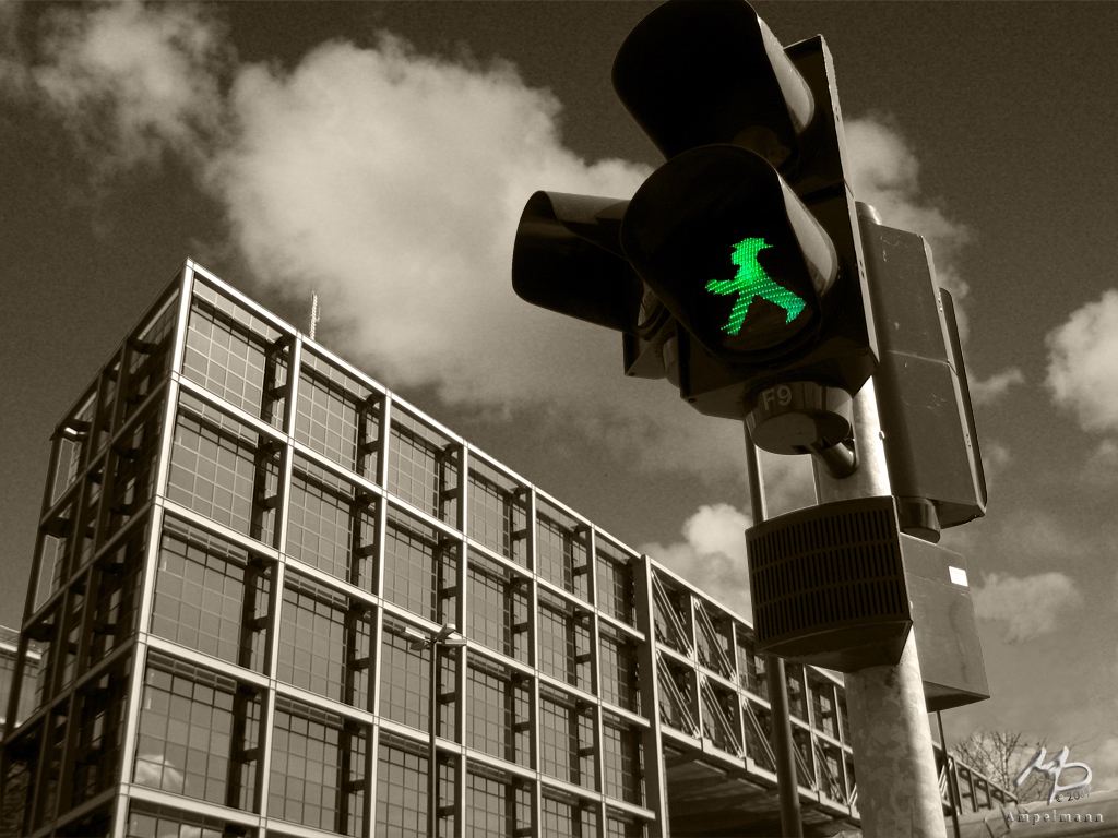 Ampelmann v2 by Markus Pichlmaier / Flickr Creative Commons. See his Berlin set here.