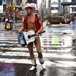 Pre-Hurricane Irene: Naked Cowboy by Dan Nguyen : Flickr Creative Commons