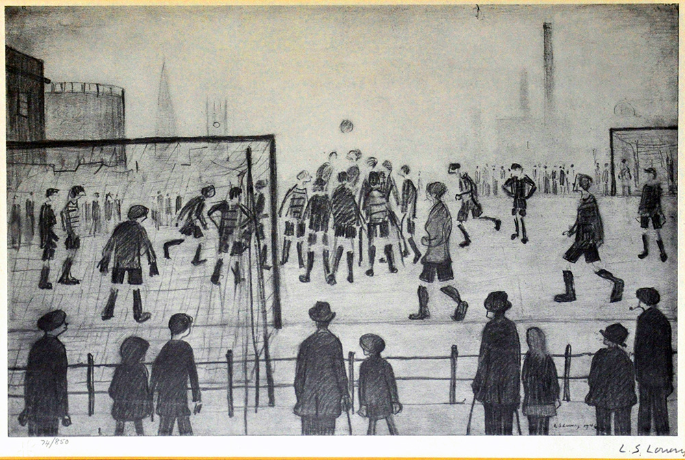 l_s_lowry_the_football_match_newton