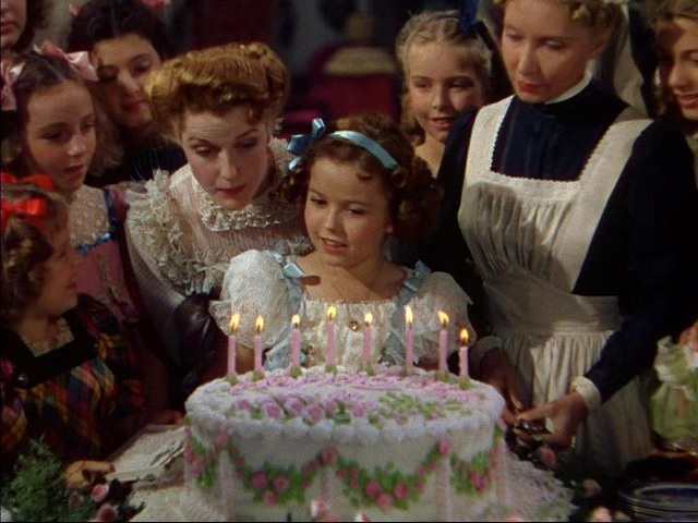 Shirley Temple in The Little Princess 1939 - Public Domain