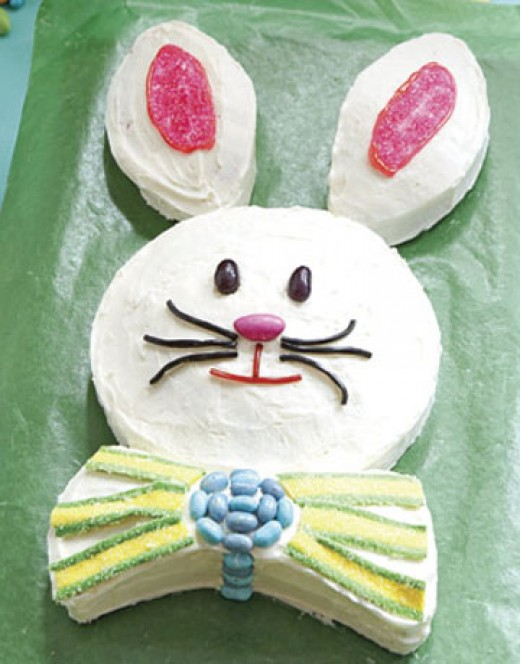 How To Make A Whimsical Easter Bunny Cake Jaquo Lifestyle Magazine